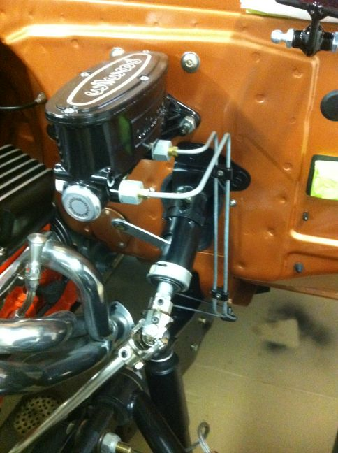 Converting from power brakes to Wilwood manual master cylinder - The