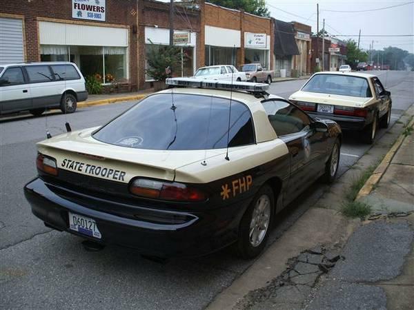 2002 Camaro Police B4c Florida Highway Patrol For Sale