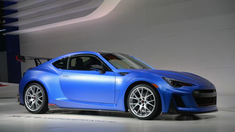 Subaru STI Performance Concept shows a bright BRZ future 300HP