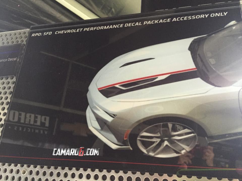 2016 Chevrolet Camaro Accessories Presented Ss Has Intake Sound