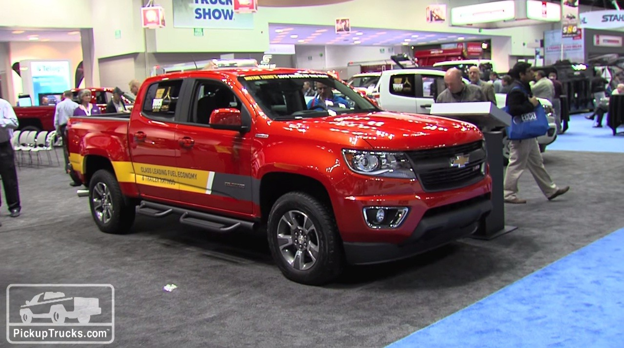 Thread: 2016 Chevrolet Colorado Diesel Presented At The 2015 Work Truck  Show Pics And Video