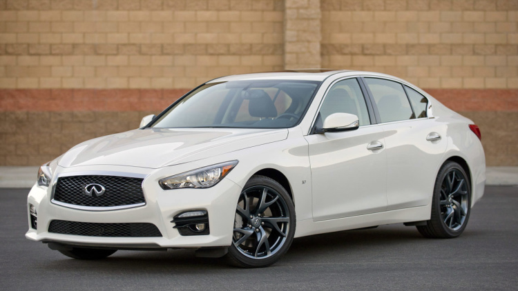 Infiniti Q50 Black Coupe